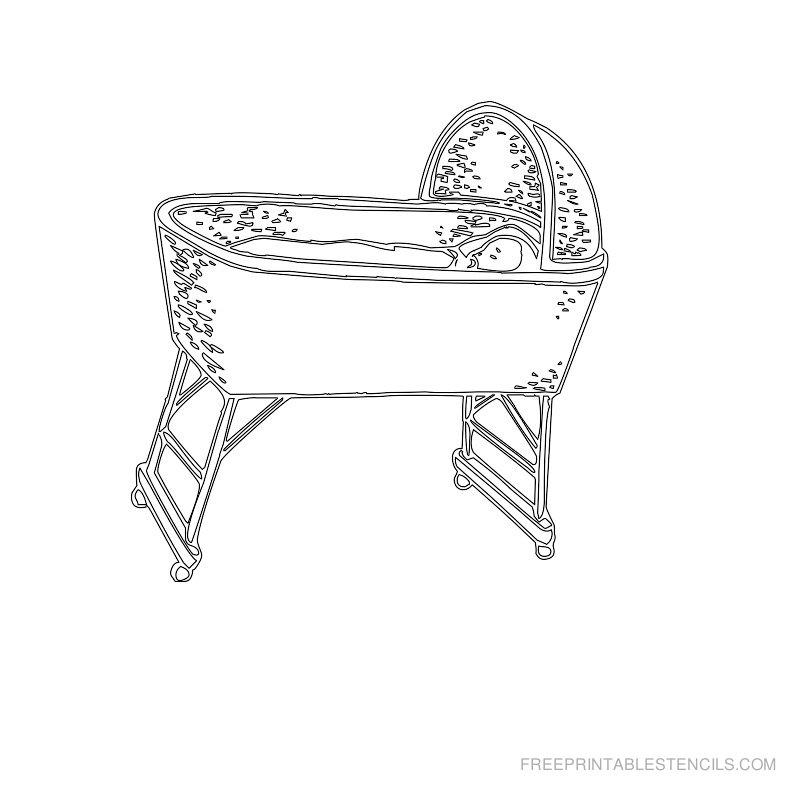 Free Printable Baby Stencil E