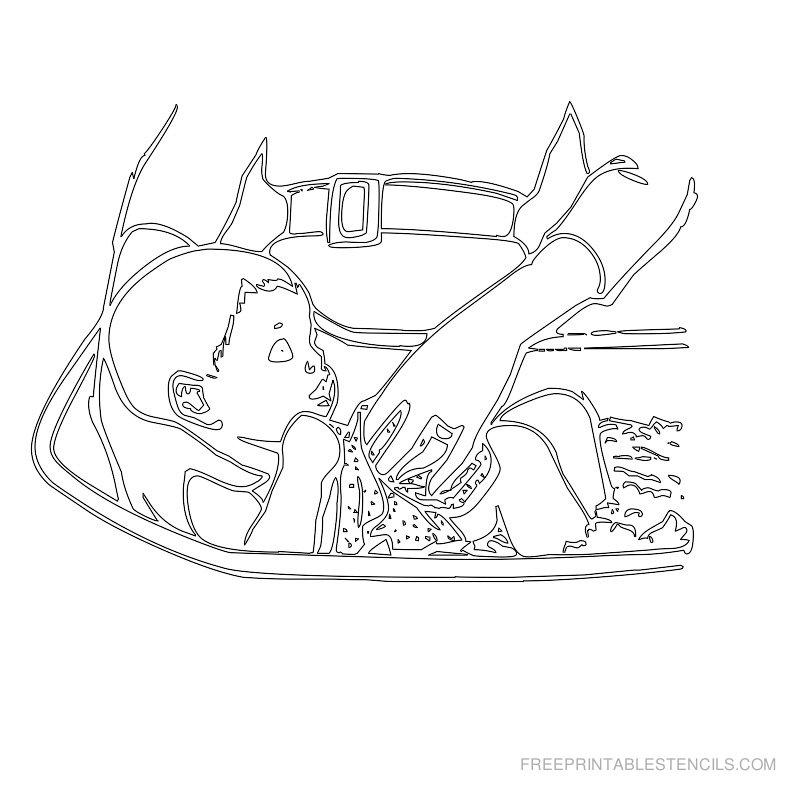 Free Printable Baby Stencil F