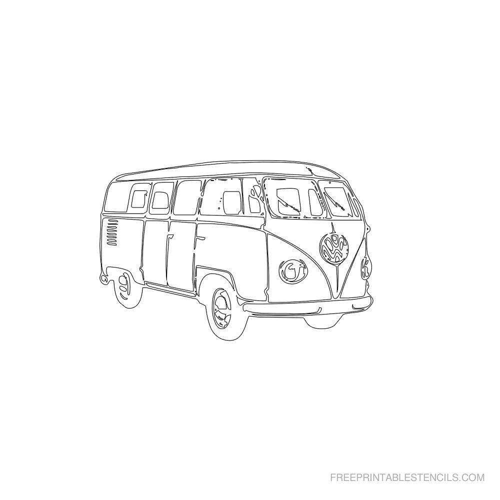 Free Printable Car Stencil S