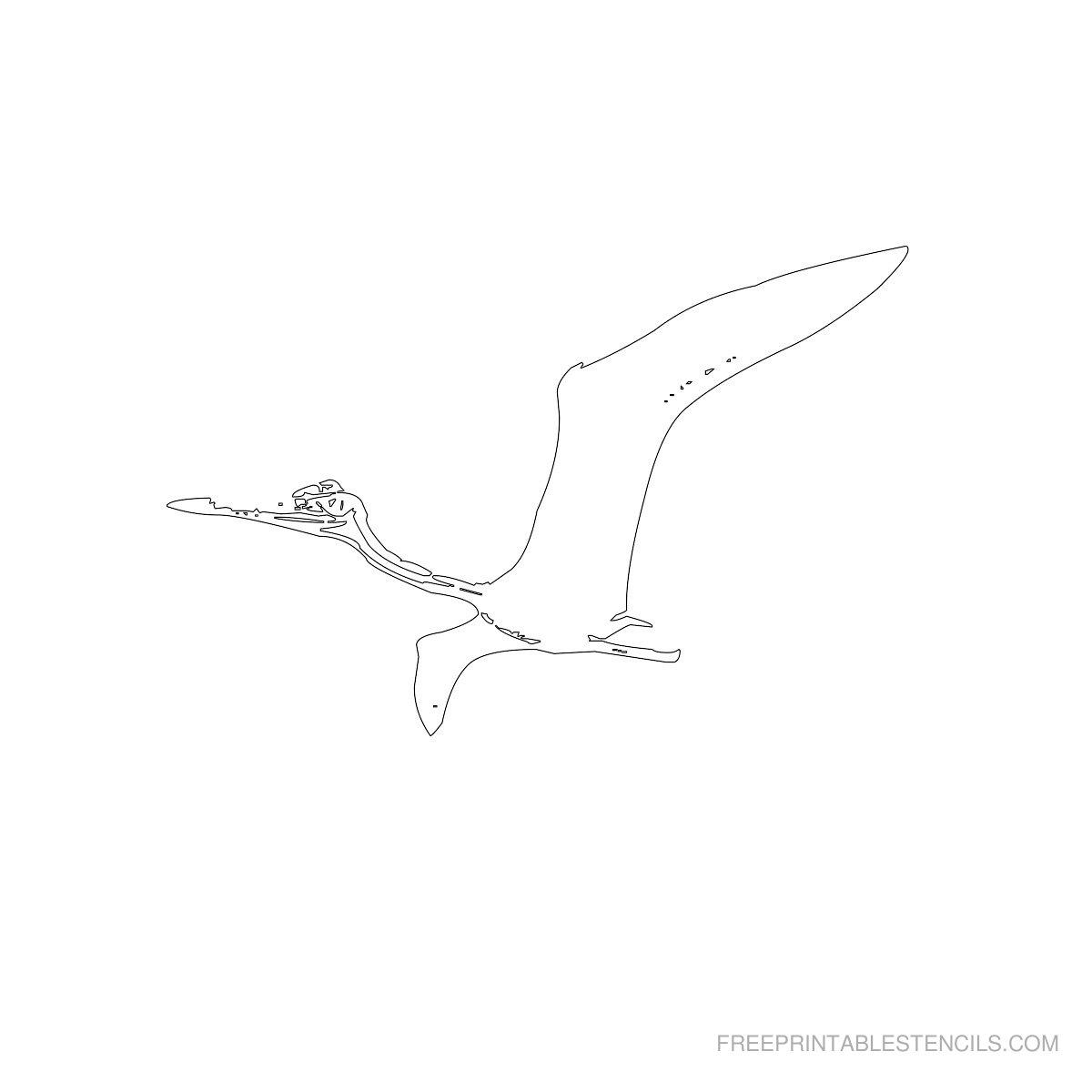 Free Printable Dinosaur Stencil I