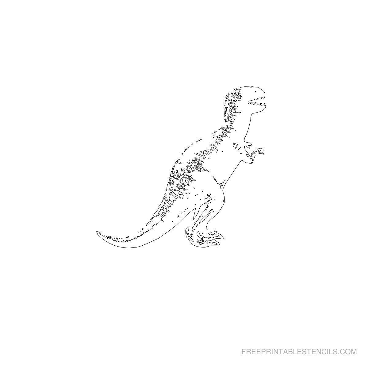 Free Printable Dinosaur Stencil S