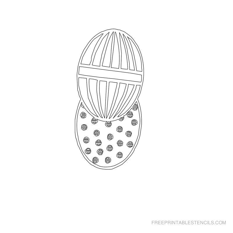 Free Printable Easter Stencil M