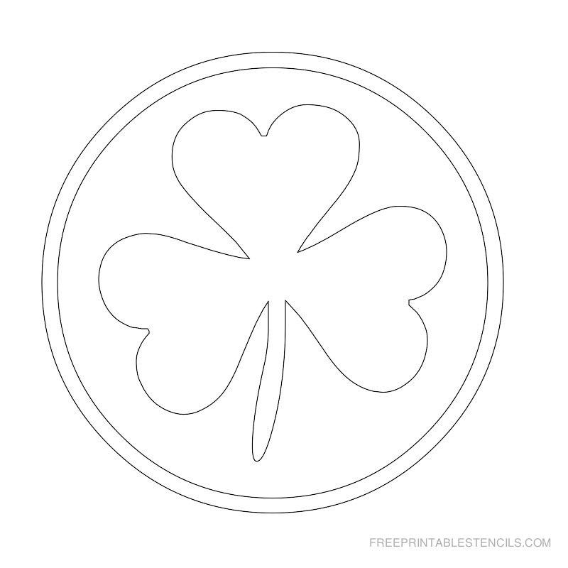 Printable leaf stencil 10