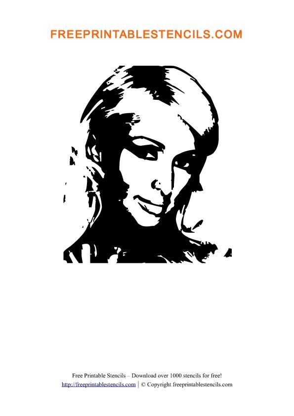 Paris Hilton Stencil