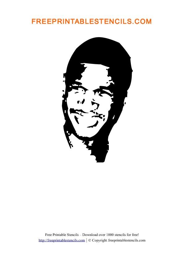 Usher Stencil