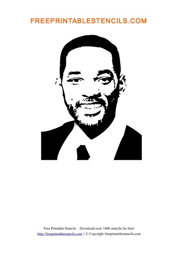 Will Smith Stencil