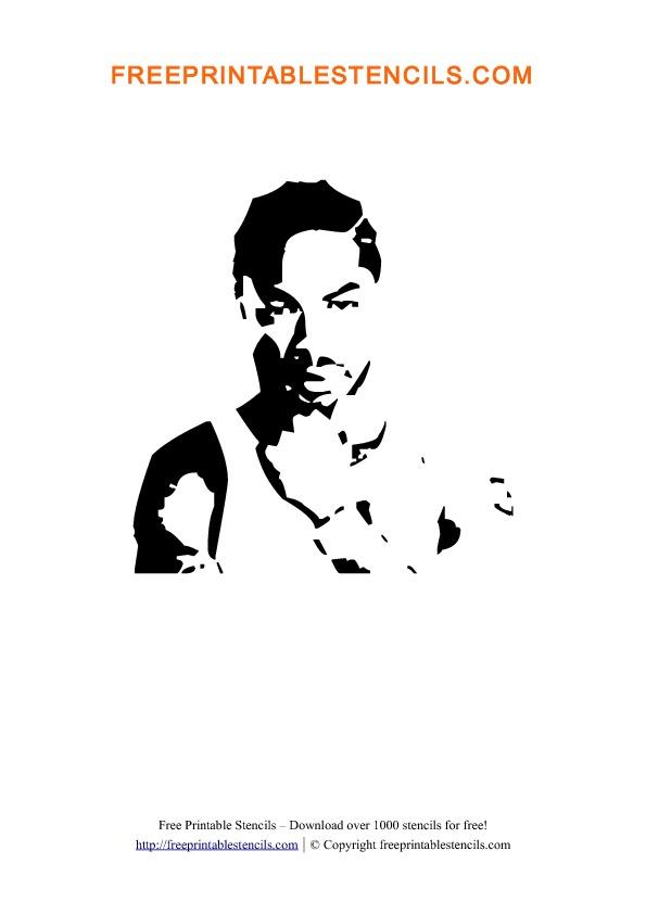 Xzibit Stencil